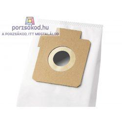 Mikroszűrős porzsák 5 darabos kiszerelésben+1FILTER(E17S.1F)