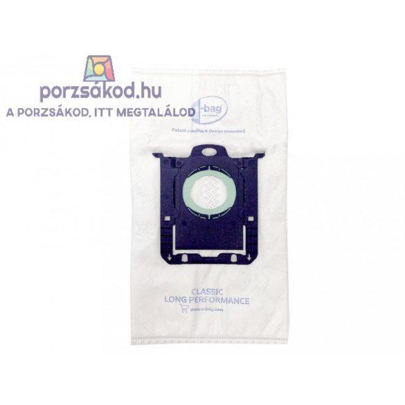 Mikroszűrős porzsák 4 darabos kiszerelésben GYÁRI PHILIPS, ELECTROLUX kompatibilis (E5/PH5GYPS)