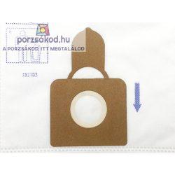 Mikroszűrős porzsák 5 darabos kiszerelésben(H168S)